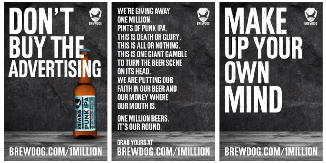 BrewDog exchanged free beer for data